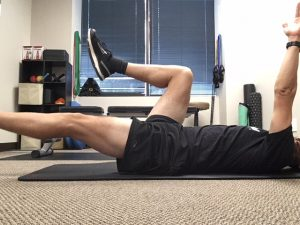 Dead bug improves lumbo-pelvic muscle control important for running
