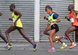Running Posture Marathon Running